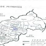 карта села око Старог Трга